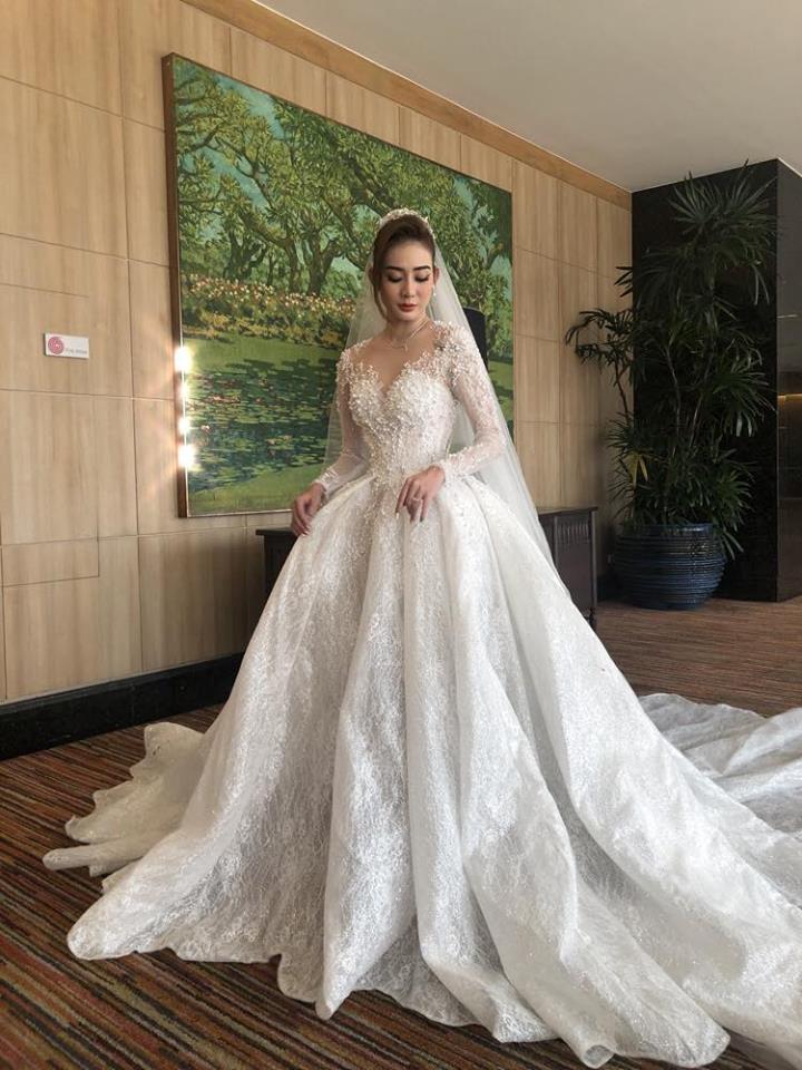 Kim Nhã BB&BG xinh đẹp trong đám cưới ở Thái Lan-2
