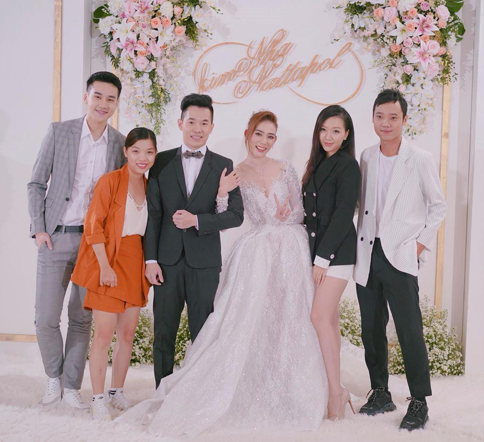 Kim Nhã BB&BG xinh đẹp trong đám cưới ở Thái Lan-3