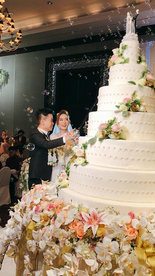 Kim Nhã BB&BG xinh đẹp trong đám cưới ở Thái Lan-4