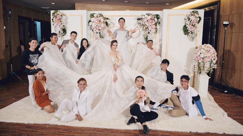 Kim Nhã BB&BG xinh đẹp trong đám cưới ở Thái Lan-5