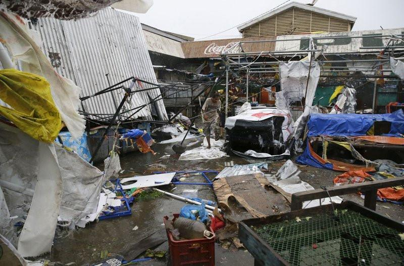 Philippines xác nhận 2 người đầu tiên thiệt mạng vì siêu bão Mangkhut-5
