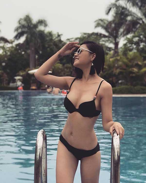 Ngắm thời My sói phim Quỳnh Búp bê lọt top cao Hoa hậu Việt Nam 2008 - ảnh 7