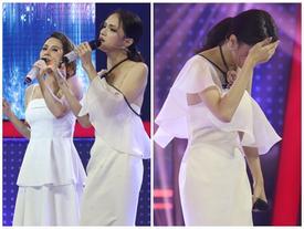 Hương Giang vẫn vô cùng thần thái khi song ca cùng giọng hát thảm họa