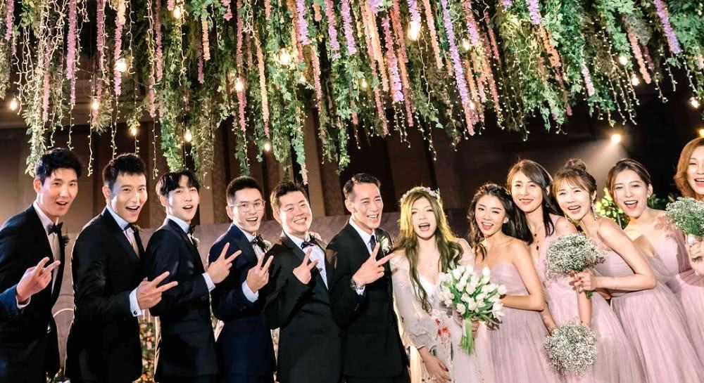 Triệu Vy xinh đẹp khi dự lễ cưới thiên kim nhà giàu Trung Quốc-9