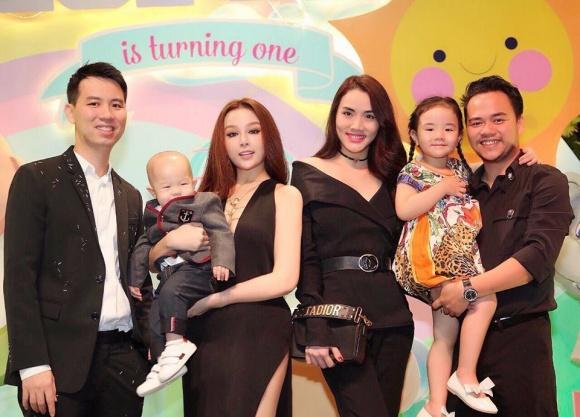 Đẳng cấp hotmom của Huyền Baby: Tổ chức tiệc hoành tráng, diện đồ cực sexy trong tiệc sinh nhật con trai tròn 1 tuổi-5