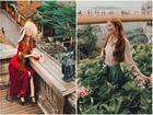 Không thể rời mắt khỏi loạt ảnh check-in tuyệt đẹp của 'hot girl tóc mây' tại Việt Nam