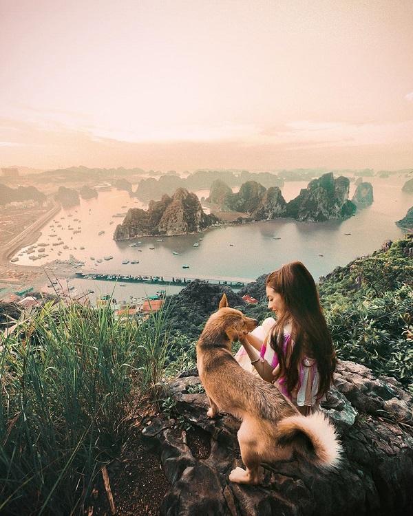 Không thể rời mắt khỏi loạt ảnh check-in tuyệt đẹp của hot girl tóc mây tại Việt Nam-5