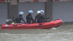 Thiên đường cờ bạc Macau biến thành sông vì bão Mangkhut