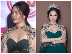 Nam Em để lộ thân hình 'phì nhiêu màu mỡ', bị ví von là 'hàng mua online' khi đụng thiết kế với Hương Giang