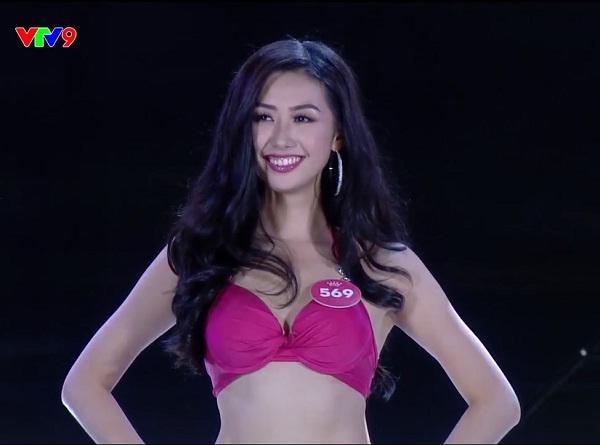 Top 25 thí sinh xuất sắc nhất tranh tài qua phần Trình diễn Bikini-8