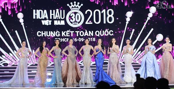 Công bố top 10 - Hoa hậu Việt Nam 2018-1