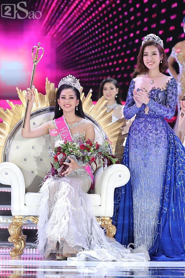 Trần Tiểu Vy đăng quang Hoa hậu Việt Nam 2018-3