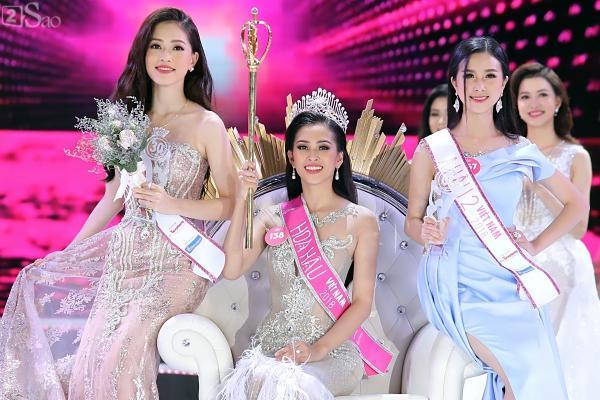 Trần Tiểu Vy đăng quang Hoa hậu Việt Nam 2018-5
