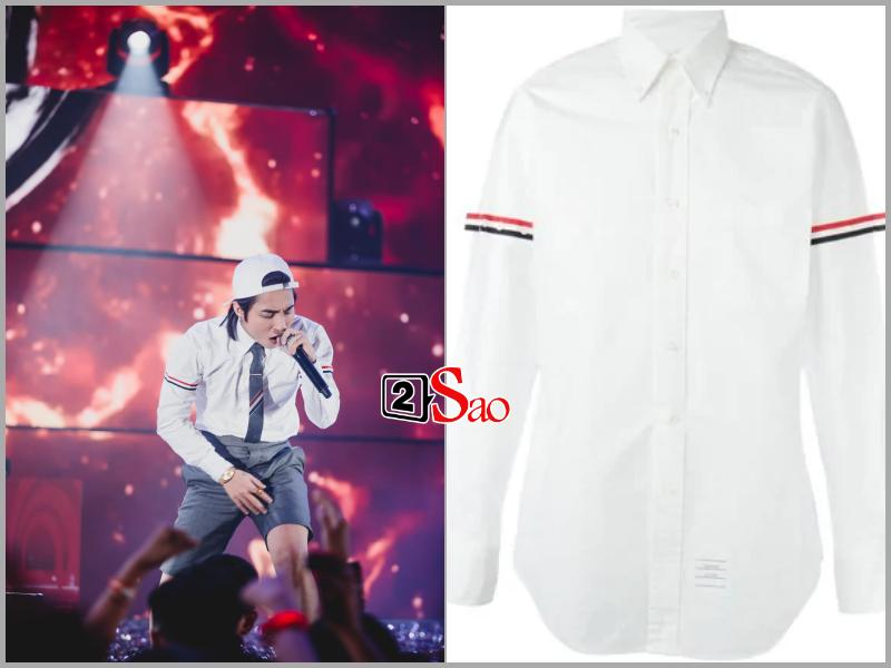 Sơn Tùng M-TP đụng hàng G-Dragon và mặc bộ suit trăm triệu lên sân khấu mà fan chỉ soi khóa quần-3