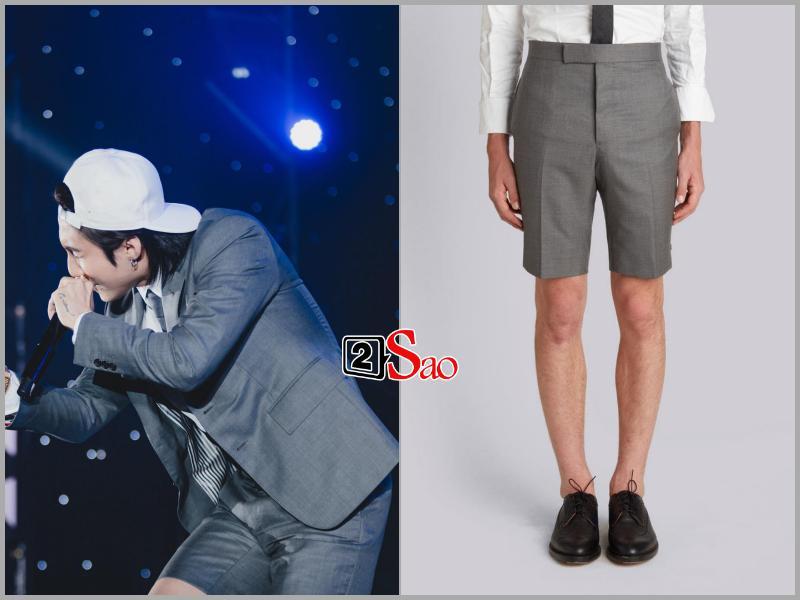 Sơn Tùng M-TP đụng hàng G-Dragon và mặc bộ suit trăm triệu lên sân khấu mà fan chỉ soi khóa quần-4