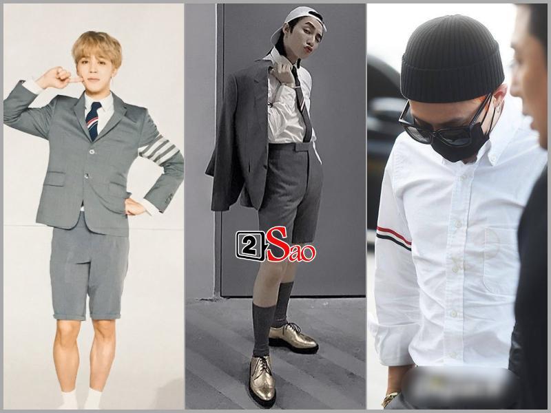 Sơn Tùng M-TP đụng hàng G-Dragon và mặc bộ suit trăm triệu lên sân khấu mà fan chỉ soi khóa quần-9