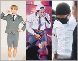 Sơn Tùng M-TP đụng hàng G-Dragon và mặc bộ suit trăm triệu lên sân khấu mà fan chỉ soi khóa quần