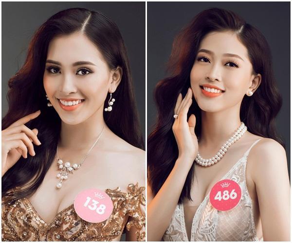 Nhan sắc tân hoa hậu Trần Tiểu Vy rực rỡ là thế nhưng vẫn đôi phần lép vế nếu so với Á hậu 1 Bùi Phương Nga-6
