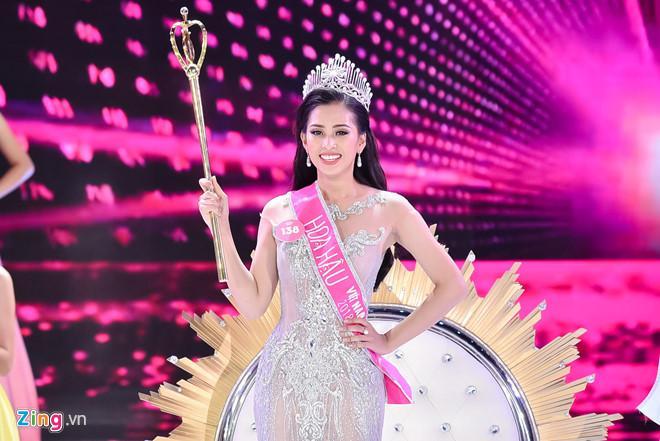 Facebook hoa hậu Trần Tiểu Vy tăng follow, xuất hiện tài khoản giả mạo-1