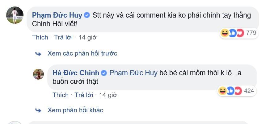 Chinh đen đăng trạng thái bằng tiếng Anh, đồng đội đặt nghi vấn anh chàng bị hack Facebook-3