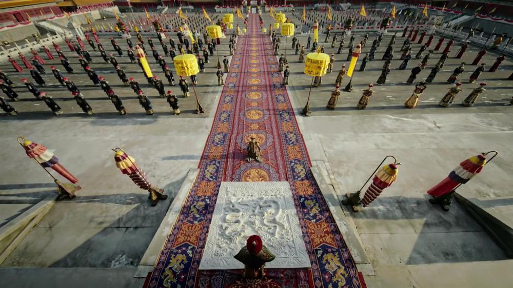 Nhìn phục trang cầu kỳ đến từng chi tiết của Châu Tấn trong đại lễ sắc phong mà thương cả hậu cung Diên Hi Công Lược-2