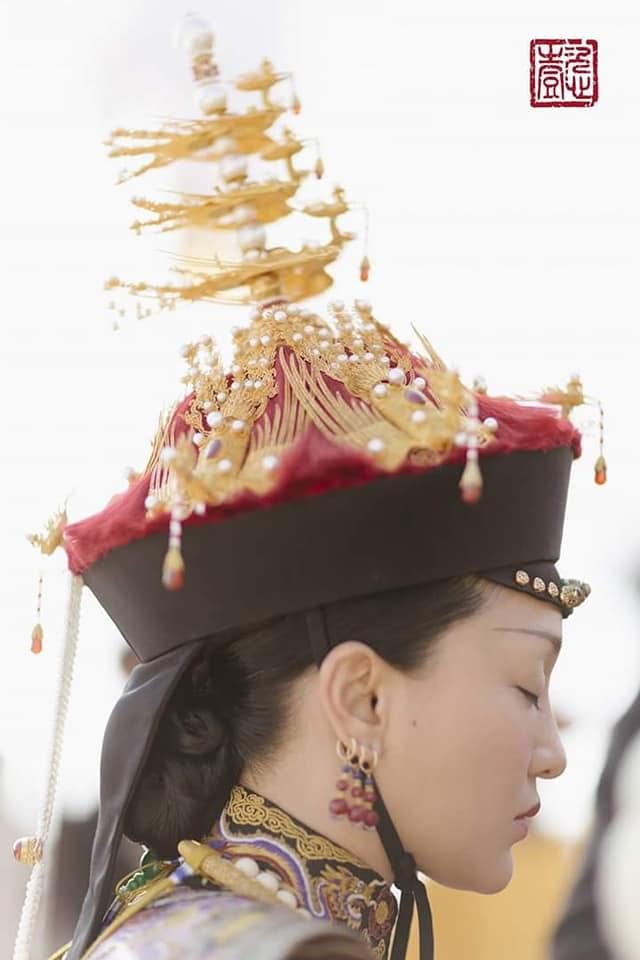 Nhìn phục trang cầu kỳ đến từng chi tiết của Châu Tấn trong đại lễ sắc phong mà thương cả hậu cung Diên Hi Công Lược-3