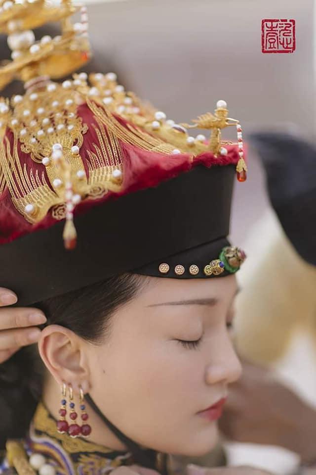 Nhìn phục trang cầu kỳ đến từng chi tiết của Châu Tấn trong đại lễ sắc phong mà thương cả hậu cung Diên Hi Công Lược-4