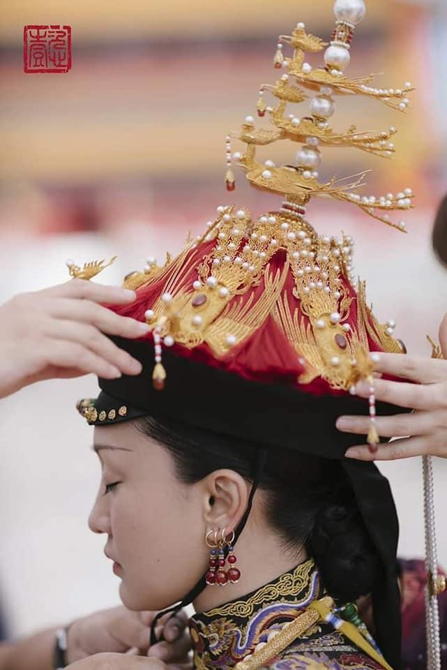 Nhìn phục trang cầu kỳ đến từng chi tiết của Châu Tấn trong đại lễ sắc phong mà thương cả hậu cung Diên Hi Công Lược-5