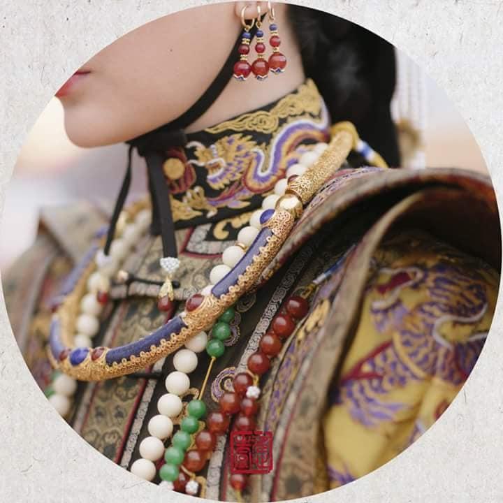 Nhìn phục trang cầu kỳ đến từng chi tiết của Châu Tấn trong đại lễ sắc phong mà thương cả hậu cung Diên Hi Công Lược-6