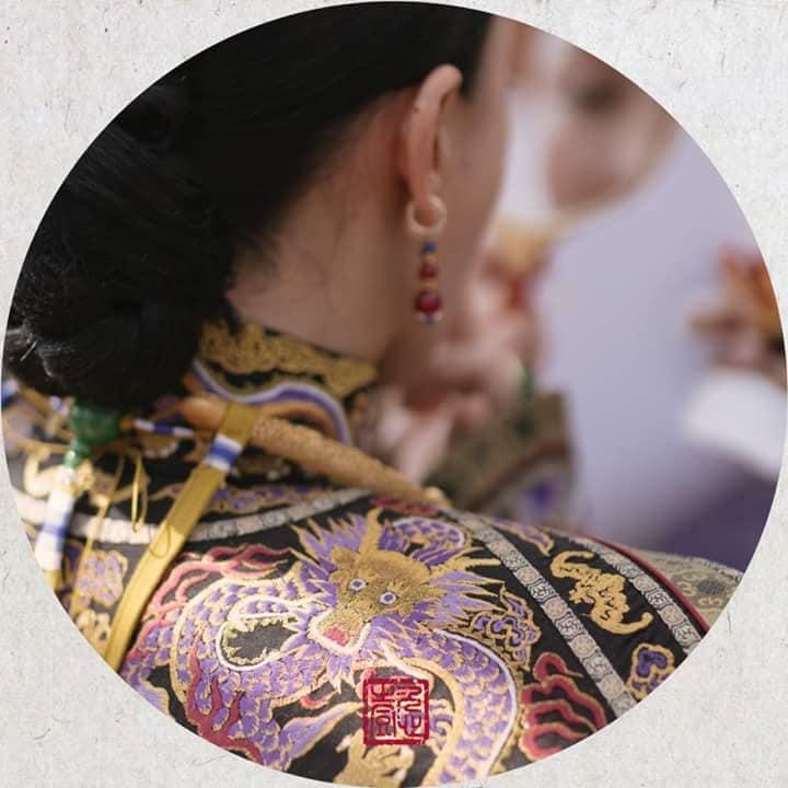 Nhìn phục trang cầu kỳ đến từng chi tiết của Châu Tấn trong đại lễ sắc phong mà thương cả hậu cung Diên Hi Công Lược-8