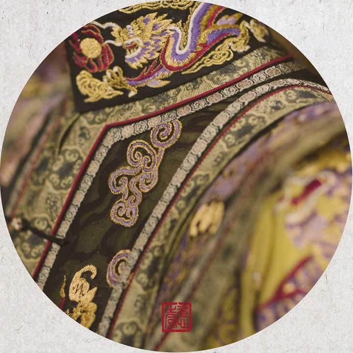 Nhìn phục trang cầu kỳ đến từng chi tiết của Châu Tấn trong đại lễ sắc phong mà thương cả hậu cung Diên Hi Công Lược-11
