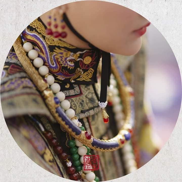 Nhìn phục trang cầu kỳ đến từng chi tiết của Châu Tấn trong đại lễ sắc phong mà thương cả hậu cung Diên Hi Công Lược-13