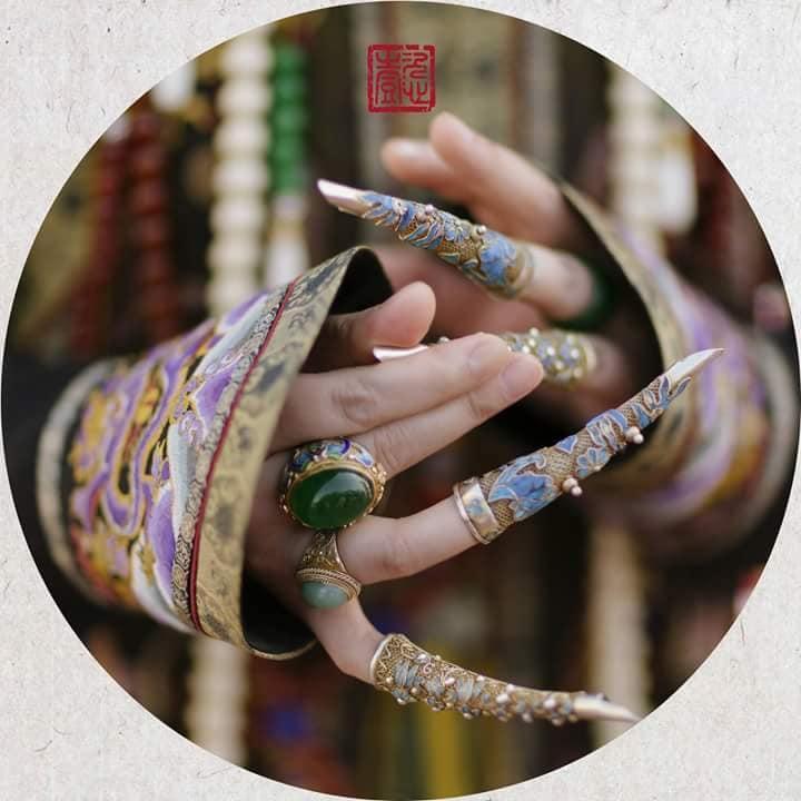 Nhìn phục trang cầu kỳ đến từng chi tiết của Châu Tấn trong đại lễ sắc phong mà thương cả hậu cung Diên Hi Công Lược-16