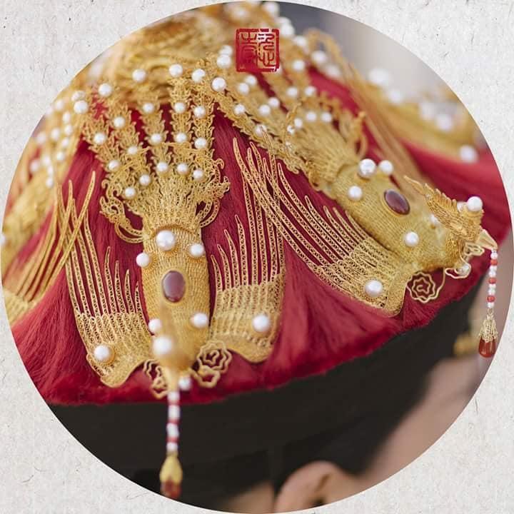 Nhìn phục trang cầu kỳ đến từng chi tiết của Châu Tấn trong đại lễ sắc phong mà thương cả hậu cung Diên Hi Công Lược-17