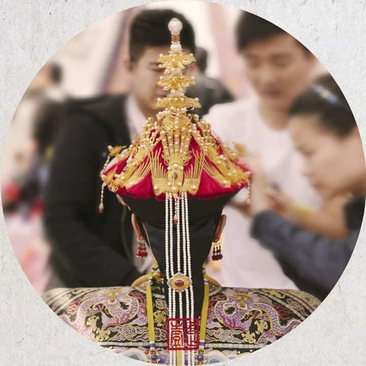 Nhìn phục trang cầu kỳ đến từng chi tiết của Châu Tấn trong đại lễ sắc phong mà thương cả hậu cung Diên Hi Công Lược-19