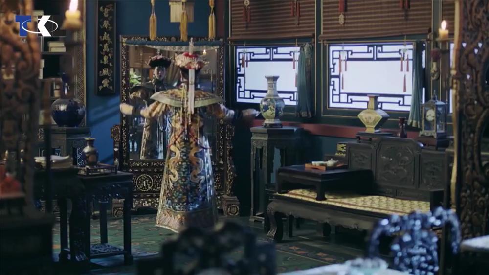 Nhìn phục trang cầu kỳ đến từng chi tiết của Châu Tấn trong đại lễ sắc phong mà thương cả hậu cung Diên Hi Công Lược-22