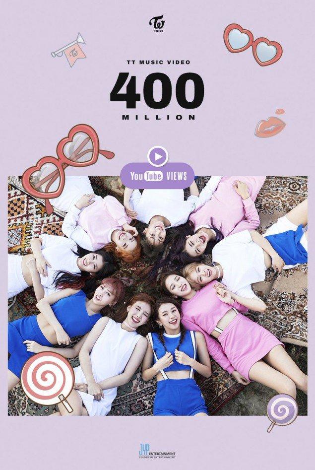 Tin vui: TWICE đã có MV đầu tiên đạt 400 triệu views, thời gian cán mốc con số này là…-2