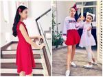 Con gái nhà Quyền Linh: Cô chị được khen giống Trương Bá Chi, cô em lại là bản sao hoàn hảo của mẹ-11