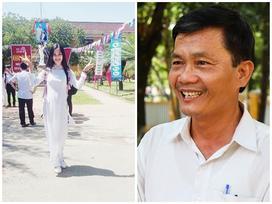 Hiệu trưởng: 'Hoa hậu Tiểu Vy học trung bình khá nhưng chăm ngoan'