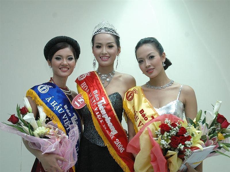 4 người đẹp đăng quang Hoa hậu Việt Nam ở tuổi 18-10