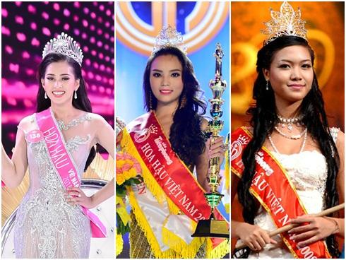 4 người đẹp đăng quang 'Hoa hậu Việt Nam' ở tuổi 18