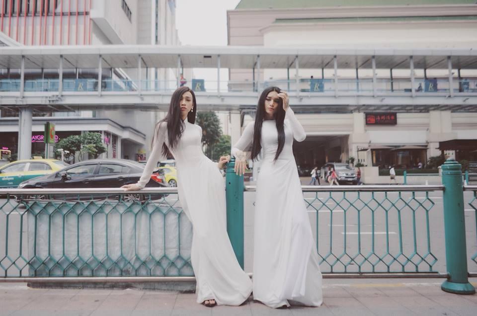Sao nam Việt mặc áo dài: BB Trần khiến phái đẹp chào thua, nhìn sang Trấn Thành chị em lại khóc thét-1