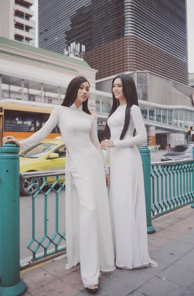 Sao nam Việt mặc áo dài: BB Trần khiến phái đẹp chào thua, nhìn sang Trấn Thành chị em lại khóc thét-2