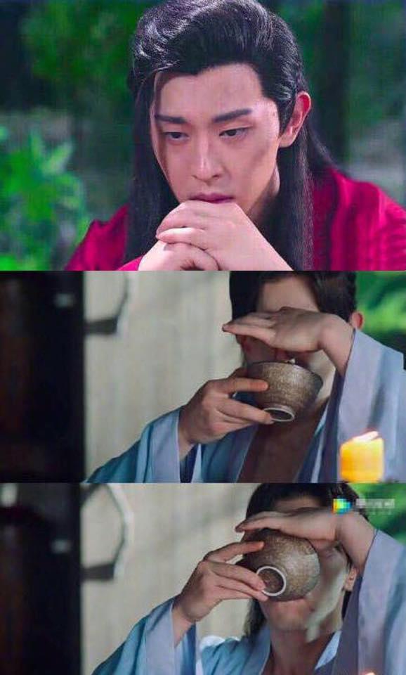 NGHỊCH LÝ NHAN SẮC: Nam thần - mỹ nhân Hoa ngữ gây shock khi lộ mặt tựa thiên thần, tay như chuối mắn-4