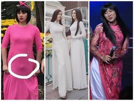 Sao nam Việt mặc áo dài: BB Trần khiến phái đẹp 'chào thua', nhìn sang Trấn Thành chị em lại 'khóc thét'