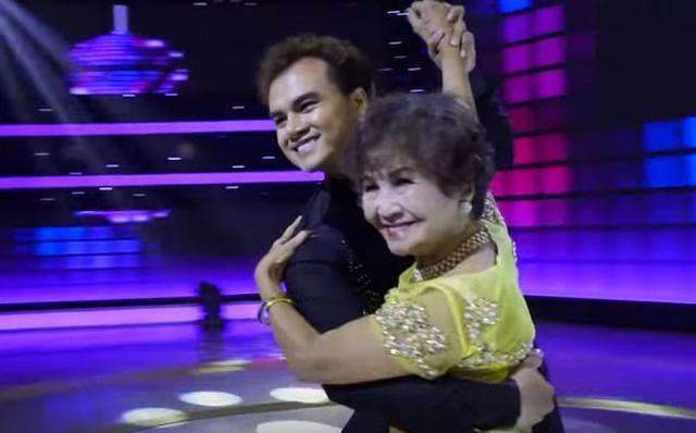 Cụ bà 85 tuổi khiêu vũ mạnh bạo, nhào lộn gây sửng sốt-2