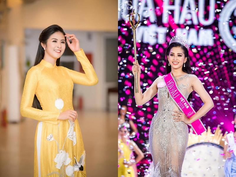 Thì ra Trần Tiểu Vy từng là hướng dẫn viên du lịch cho Hoa hậu Ngọc Hân-1