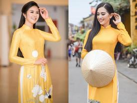 Thì ra Trần Tiểu Vy từng là 'hướng dẫn viên du lịch' cho Hoa hậu Ngọc Hân