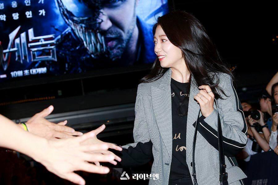 Park Shin Hye rạng rỡ đến ủng hộ người tình Hyun Bin-2