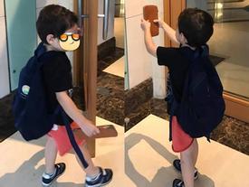 Hào hứng khoe ảnh con trai, Thu Minh vẫn quyết giấu mặt quý tử